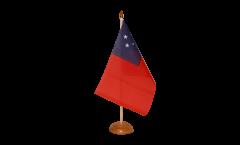 Samoa Table Flag
