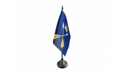 Sweden Dalarna County Table Flag