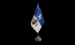 Sweden Jämtland county Table Flag