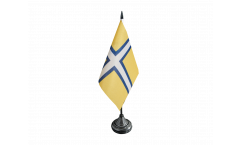 Sweden Västergötland historic Table Flag - 3.95 x 5.9 inch