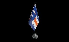 Sweden Västernorrland County Table Flag