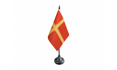 Sweden Skåne Scania Table Flag