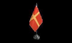 Sweden Skåne Scania Table Flag - 3.95 x 5.9 inch