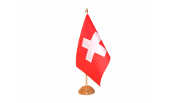 Switzerland Table Flag