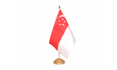 Singapore Table Flag