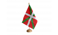 Spain Basque country Table Flag