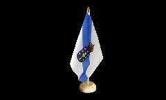 Spain Galicia Table Flag