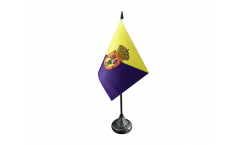 Spain Gran Canaria Table Flag - 3.95 x 5.9 inch
