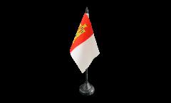 Spain Castile-La Mancha Table Flag - 3.95 x 5.9 inch