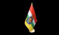Spain La Rioja Table Flag