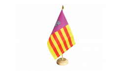 Spain Majorca Table Flag