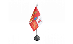 Spain Royal Table Flag - 3.95 x 5.9 inch