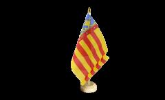 Spain Valencia Table Flag