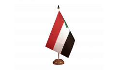 Sudan Table Flag