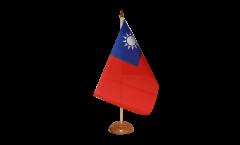 Taiwan Table Flag