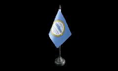 USA City of Boston Table Flag