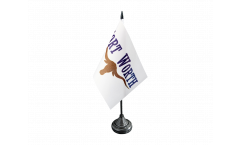 USA City of Fort Worth Table Flag - 3.95 x 5.9 inch