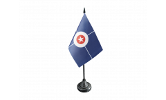USA City of Indianapolis Table Flag - 3.95 x 5.9 inch