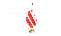 USA District of Columbia Table Flag