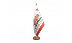 USA California Table Flag