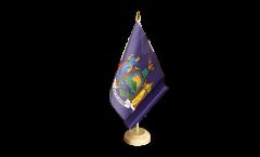 USA New York Table Flag
