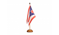 USA Ohio Table Flag