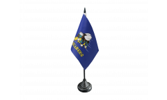 USA Seabees Table Flag - 3.95 x 5.9 inch