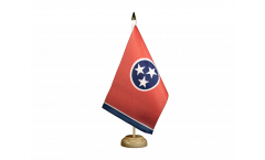 USA Tennessee Table Flag
