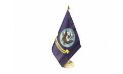 USA US Navy Table Flag