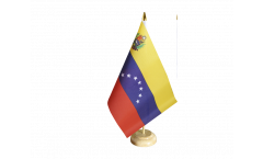 Venezuela 7 stars with coat of arms 1930-2006 Table Flag