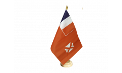 Wallis and Futuna Table Flag