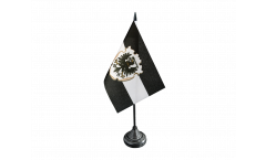 West Prussia Table Flag - 3.95 x 5.9 inch
