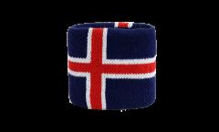 Schweißband Iceland - 7 x 8 cm