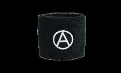 Schweißband Anarchy  - 7 x 8 cm