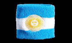Schweißband Argentina with Sun - 7 x 8 cm