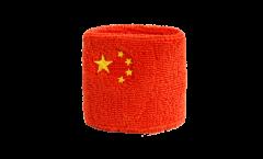 Schweißband China - 7 x 8 cm