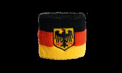 Schweißband Germany with eagle - 7 x 8 cm
