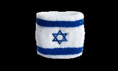Schweißband Israel - 7 x 8 cm