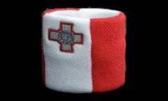 Schweißband Malta - 7 x 8 cm