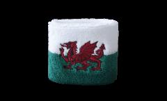 Schweißband Wales - 7 x 8 cm